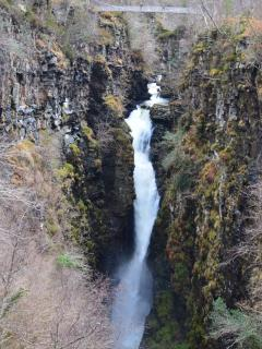 The stunning Corrieshalloch Gorge near Ullapool, around 30 minutes drive from West Lodge