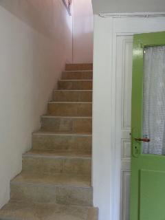 montée d escalier pour l appartement