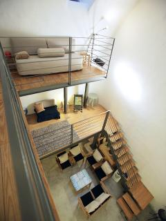 view of 3 floors