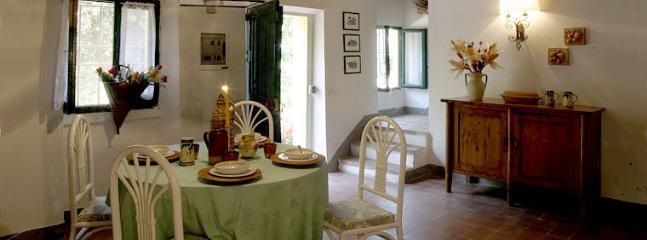 salón comedor de Casa Oliveta