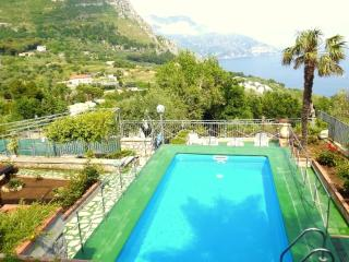 Amalfi Coast private VILLA MINERVA with private pool, free parking, sea view