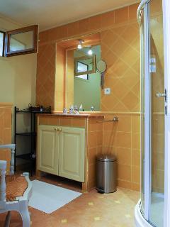 One of the Agarrus' bathrooms