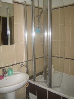 Main bathroom/shower.