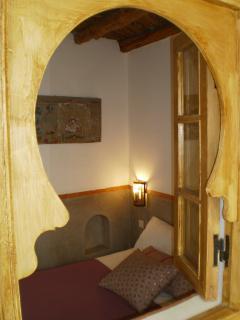 big double en-suite bedroom on the second floor view from the inner corridor