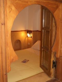 big double en-suite bedroom on the first floor view from the inner corridor