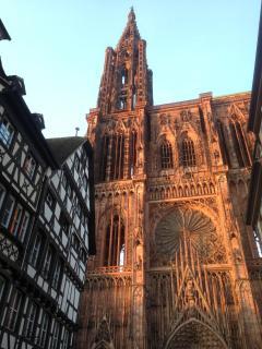 La cathédrale à moins de 5 minutes à pied