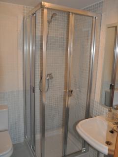 Shower room upstairs