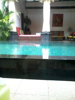 Pool view from each bedroom