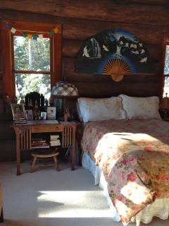 Master bedroom overlooks Jellison Cove and some lobster boats. Catches sunrise from the east.