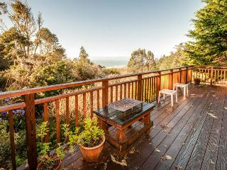 Become inspired by the sea views from the deck! Dog-friendly too!, Mendocino