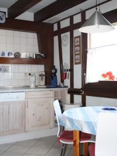 Keuken vanuit andere hoek gezien