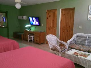 Two big beds private apartment in a central hotel, Sosua