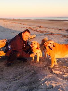 Dogs love Sea Pines too!