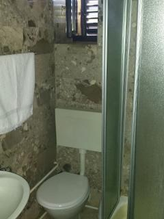 A2 Plavi(2+2): bathroom with toilet