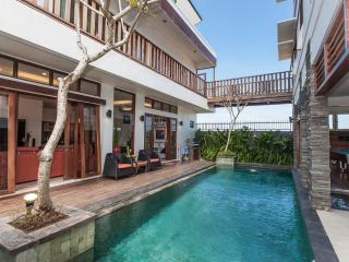 2 Bedroom Club 9 Residence in front of Canggu Club