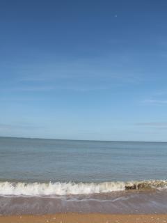 la mer à Jard sur Mer