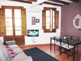 Ramblas blue- luminous apartment, Barcelona
