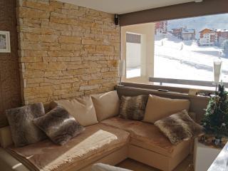 Appartement dans chalet départ skis aux pieds