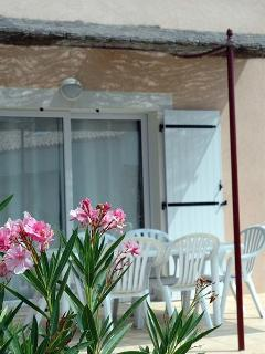 Outside private terrace