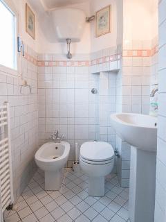 Toilet with Washbasin and Bidet