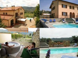 La casa di Albi, Castiglion Fiorentino