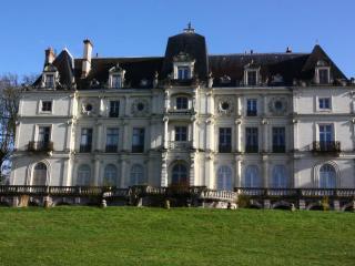 CHATEAU de ST GERVAIS - gîte de charme 4/5 pers., Blois