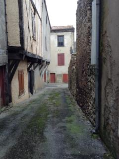 Medieval alley behind Chez Rivel
