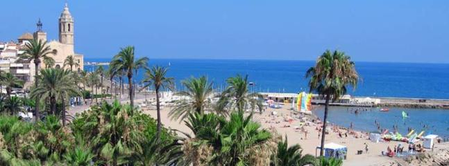 The Beautiful Sandy Beach - one of the Best in the Mediterranean