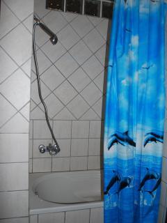 Doccia con vasca a sedere