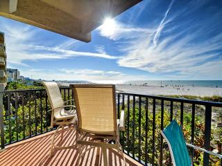 Surfside Condos 204 Beachfront | 3 bedrooms 2 baths | Heated Pool, Clearwater