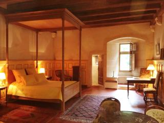 Chambre dans le Donjon du Château de Saint-loup