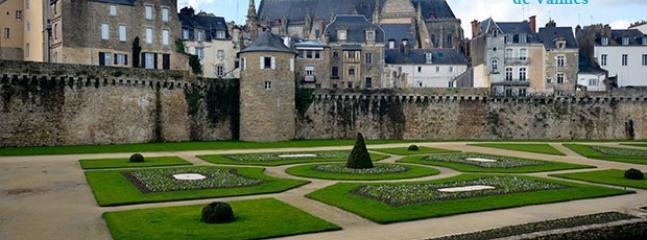 Les jardins des rempart à Vannes