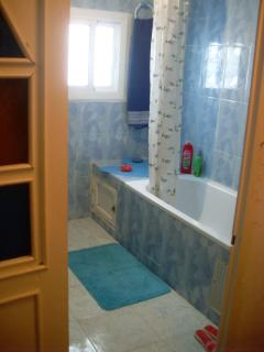 First bathroom on second floor