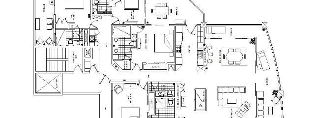 Floor Plan with accurate furniture placement