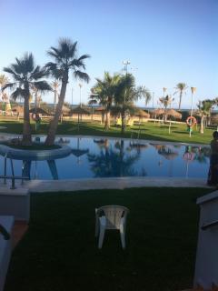 piscina ultima hora de la tarde