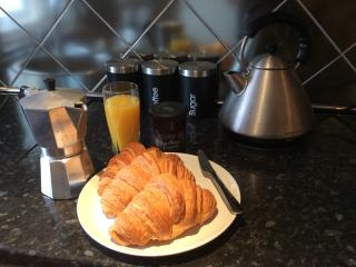 Great way to start the day, all you need in the kitchen to whip up a great breakfast