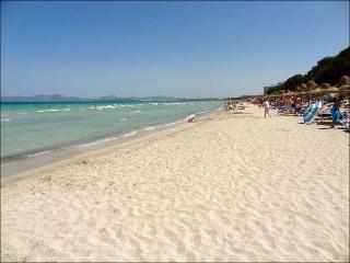 Coqueto apartamento a 2 min. del mar caminando, Playa de Muro