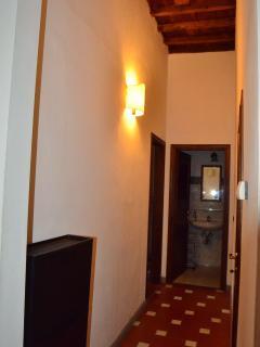 Corridoio verso la camera