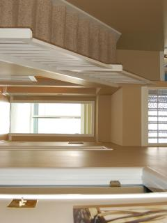 Airy and spacious floor plan.  Tons of natural light.