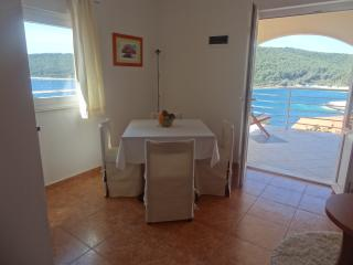 Lovely apartment 3+1 near the sea with terrase L, Vela Luka
