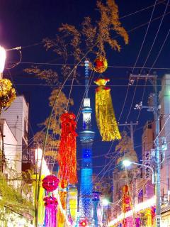 Tanabata festival 3 min walk.