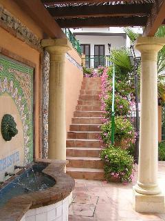 Courtyard entrance La Fuente