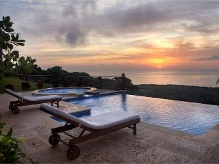 Caribbean Luxury. Whale Watch from Infinity Pool.