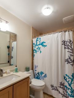 Lower queen bedroom/bath