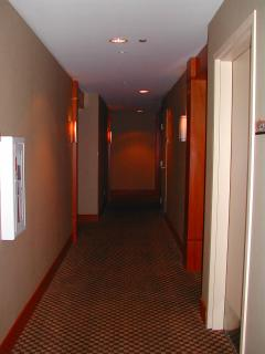hallway to condo