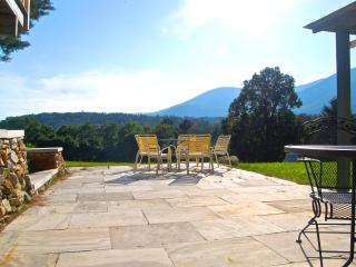 private marble patio with BBQ and stunning views all year long