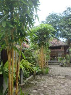 Parking area and Pendopo Limasan