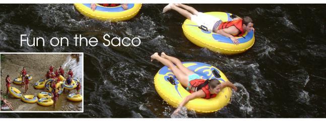 Saco River Tubing, Canoeing, Kayaking
