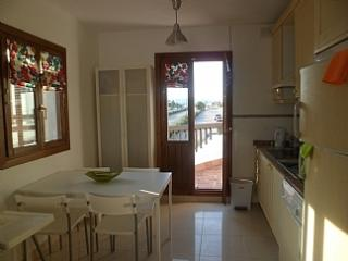 Kitchen dining area leading out to balcony in Casa Kirbs 1