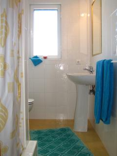 Bathroom  with shower on second floor